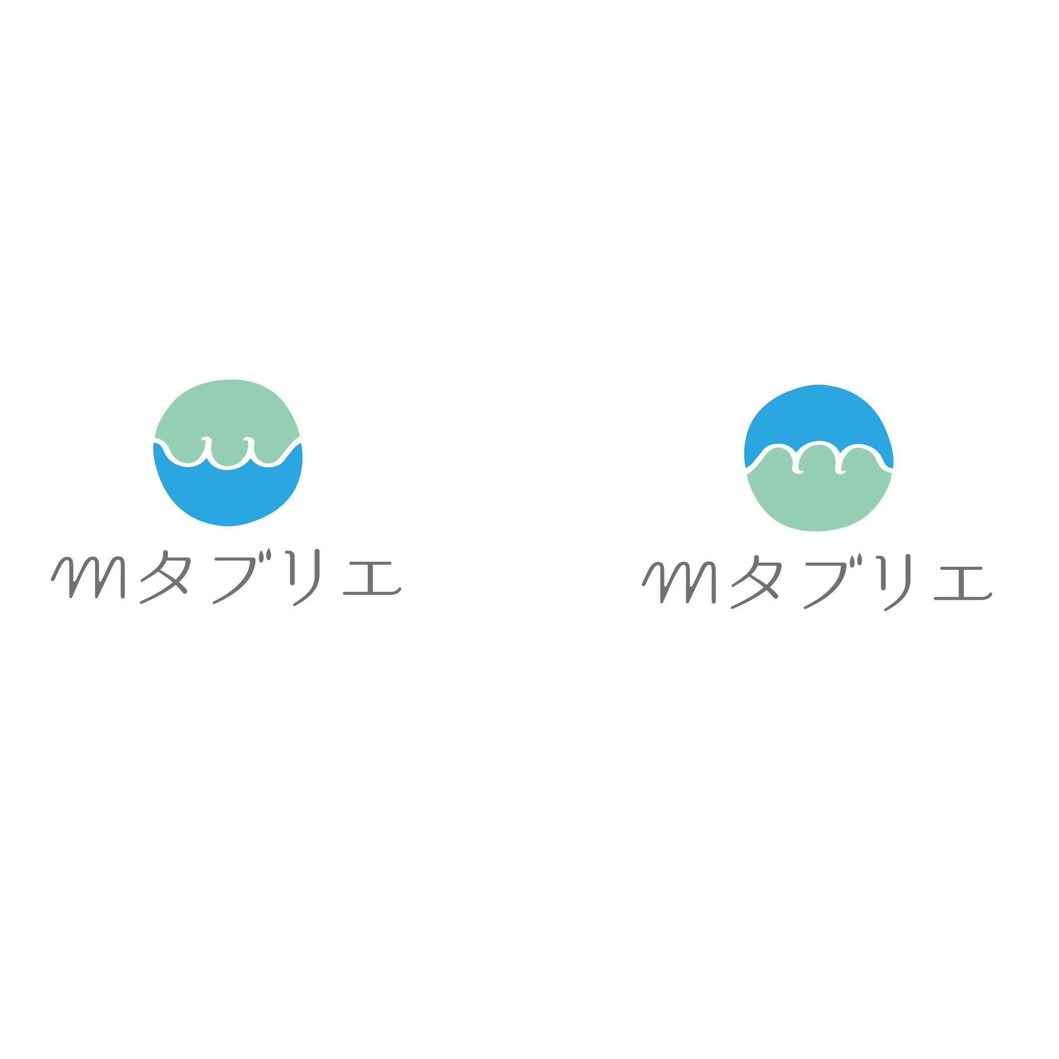 mタブリエ ロゴデザイン