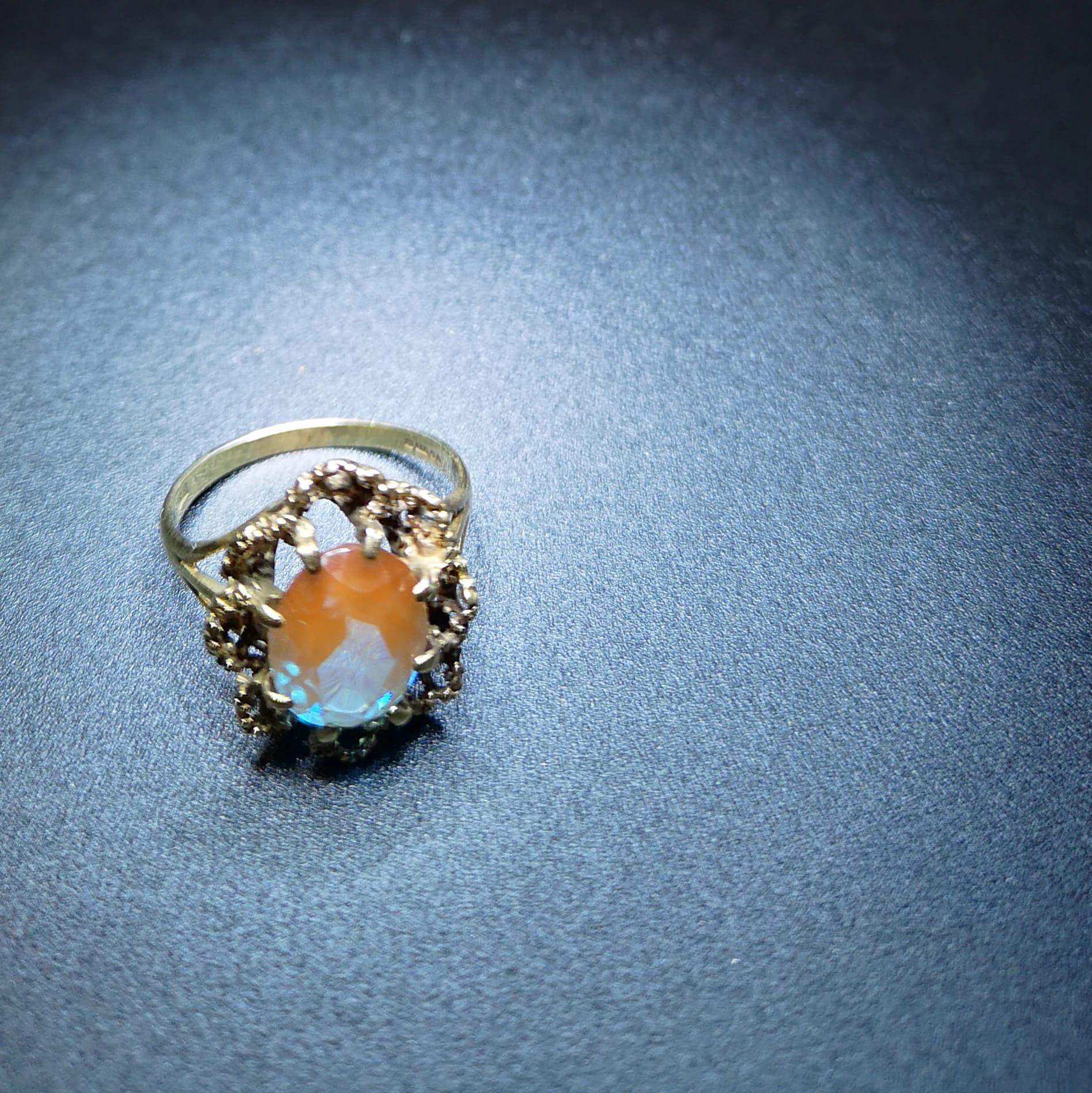 サフィレットの指輪 サイズ直し サフィレットの歴史も紹介